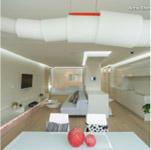 WHITE AND WHITE: DAZZLING APARTMENT PROJECT BY DESIGNER ANNA SHEMURATOVA